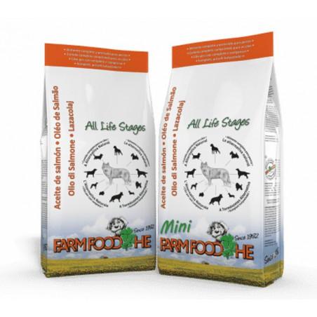 Farm Food HE Classic con Aceite de Salmón para cachorros y perros mini