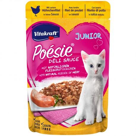 Poiseie Déli Sauce filete de pollo tierno gatitos