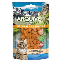 Arquivet Natural Snack Corazones de Pollo 100grs
