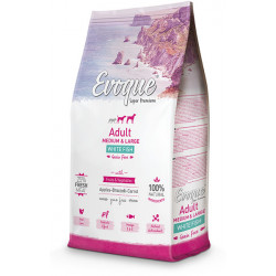 Evoque Adult Medium & Large Grain Free de pescado blanco