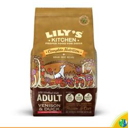 Lily's Kitchen pienso para perro Venado, pato y salmón