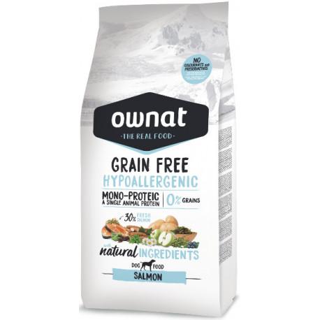 Ownat Grain Free Salmón Hipoalergénico