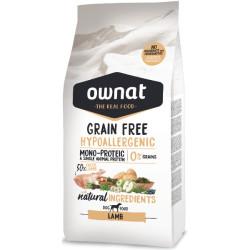 Ownat Grain Free Cordero Hipoalergénico