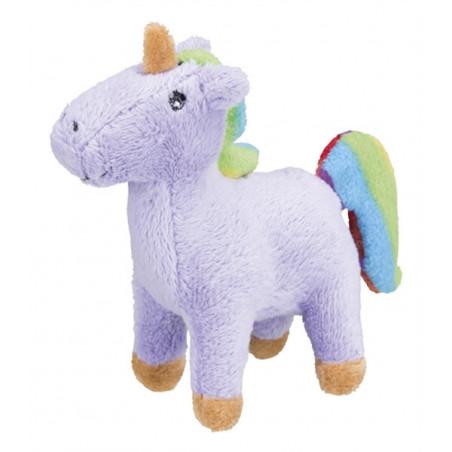 Peluche Unicornio con hierba catnip