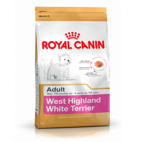 Oferta Royal Canin West Highland Adult 500+500gr regalo