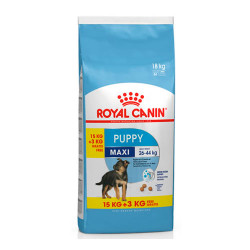 Royal Canin Maxi Puppy 15Kg + 3 Kg Gratis