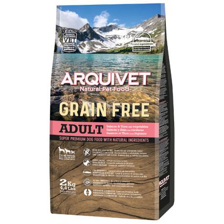 Arquivet Pienso Grain Free de Salmón con Atún