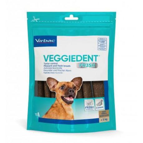 Láminas masticables Veggiedent Fresh para perros Xsmall