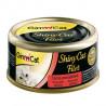 Latas gimcat shinycat filete de atún y salmón para gatos