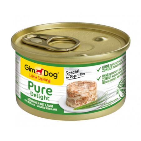 Gimdog Pure Delight con pollo y cordero para perros 150g