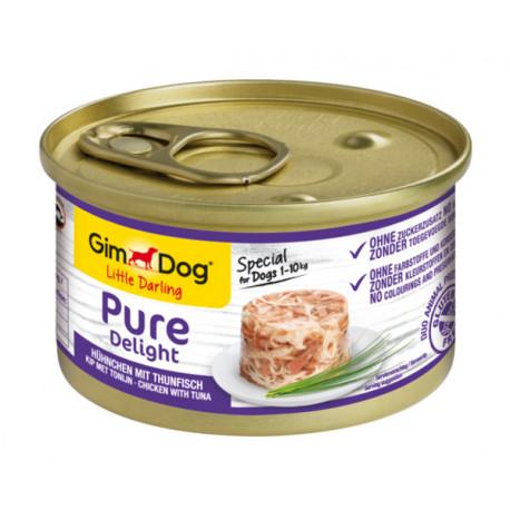 Gimdog Pure Delight con pollo y atún para perros