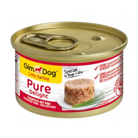 Gimdog Pure Delight con atún y ternera para perros