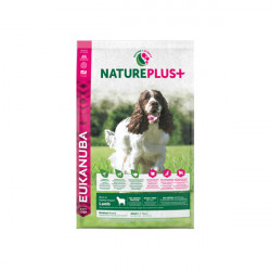 Eukanuba Nature Plus+ Adult Medium Cordero