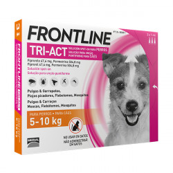 Frontline Tri-Act Pipetas Para Perros de 5kg a 10kg