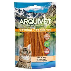 Arquivet Natural Snack Tiras de Pollo 50grs