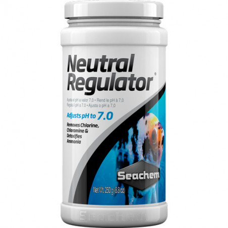 Seachem Neutral Regulator Neutralizador de Ph