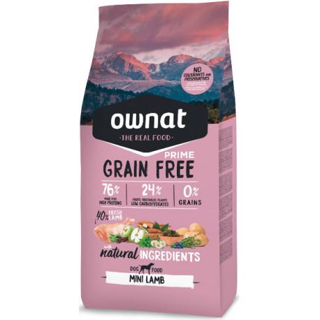 Ownat Prime Grain Free Mini Adult Cordero