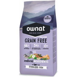 Ownat Prime Grain Free Cat Sterilized Pescado