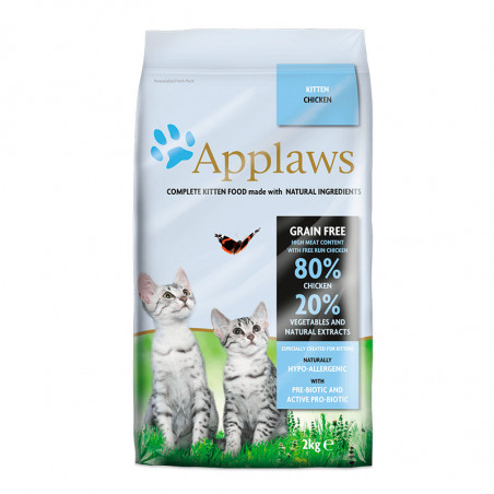 Applaws Kitten 80% Pollo Fresco y Sin Cereales