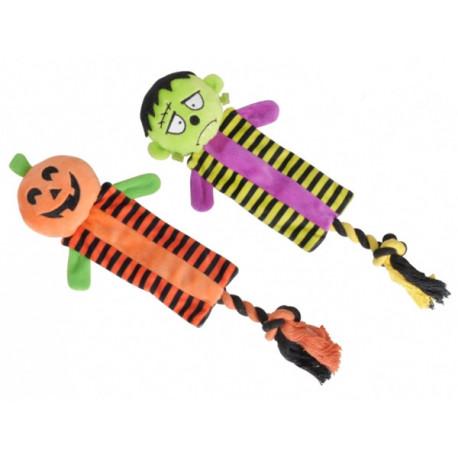 Monstruos Halloween con Cuerda para Perros