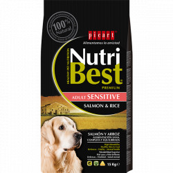 NutriBest Sensitive Adult Salmon y Arroz