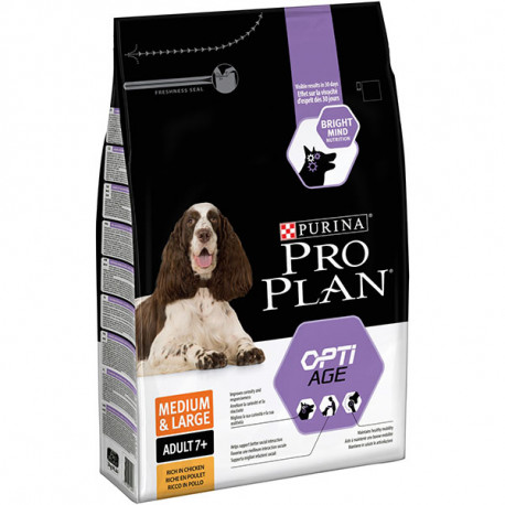 Purina Pro Plan Adult OptiAge 7+ Raza Mediana y Grande