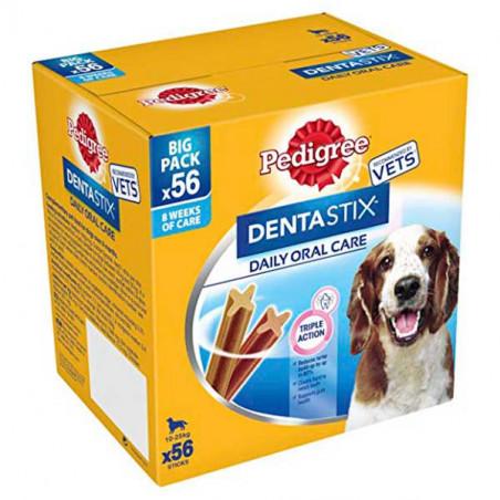 Pedigree DentaStix Care Perros De Raza Mediana Multipack 56 UDS