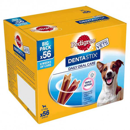 Pack Para 2 Meses Pedigree DentalStix Care Perros De Raza Mini