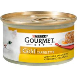 Gourmet Gold Tartelette Pollo y zanahoria
