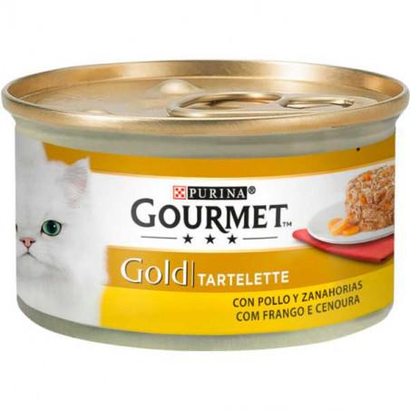 Gourmet Gold Tartelette Pollo y Zanahoria 85g