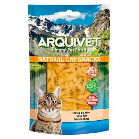 Arquivet Natural Snack Filetes De Atún 50g