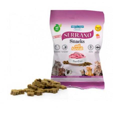 Snack Serrano Mediterranean Sardina Para Gatos