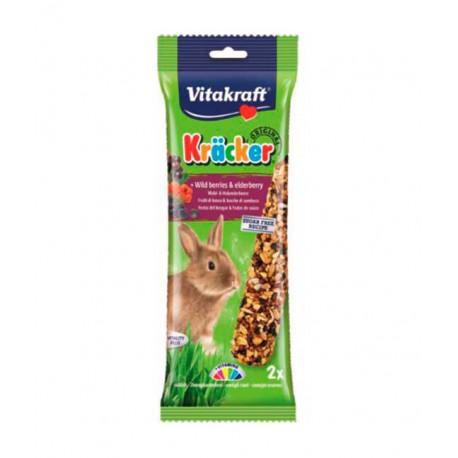 Vitakraft Conejos Enanos Barritas Frutas del Bosque