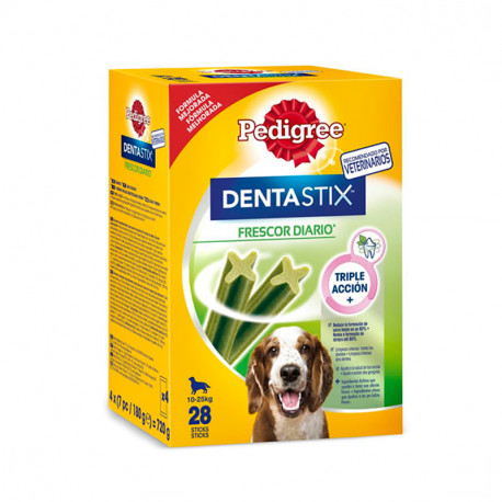 Pack Mensual Pedigree Dental Stix Fresh Perros