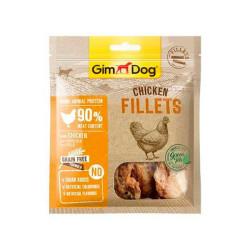 GimDog Snack Grain Free Filetes De Pollo