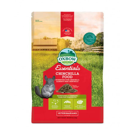 Alimento Oxbow Essentials Para Chinchillas