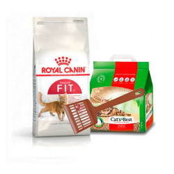 Royal Canin Fit 32 10Kg+ Okoplus 5L y paleta