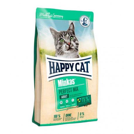 Happy Cat Minkas Mix, Pescado, Cordero y Pollo