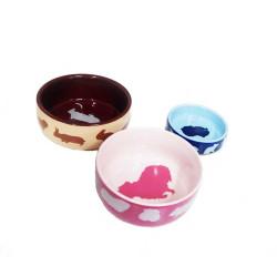 Comedero De Ceramica Para Roedores