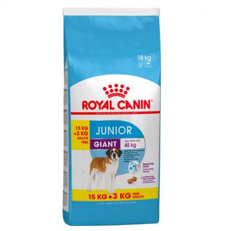 Royal Canin Giant Junior 15kg + 3kg Gratis
