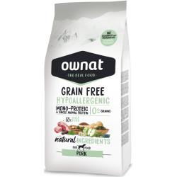 Ownat Grain Free Cerdo Hipoalergénico