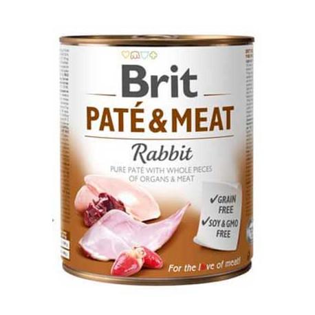 Brit Paté Conejo Y Pollo