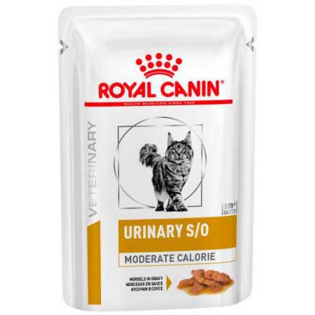 Royal Canin Urinary S/O Moderate Calorie gatos sobre 100g