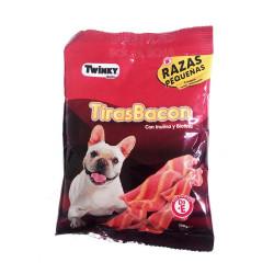 Snack Tiras Bacon con Inulina y Biotina Razas Pequeñas