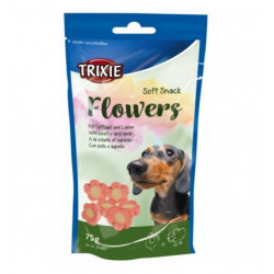 Mini Flores Snack Cordero y Pollo Trixie