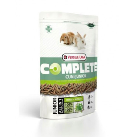 Alimento Complete Cuni Para Conejos Enanos Junior 500g
