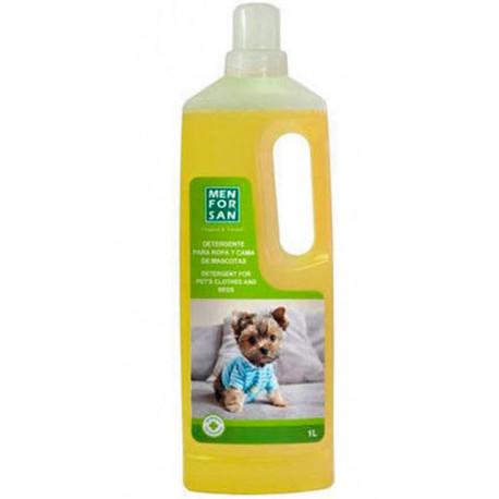 Detergente Gel Especial para Ropa y Cama de Mascotas 1L