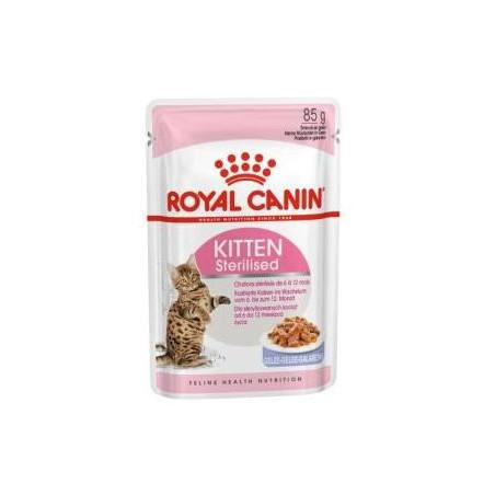 Royal Canin Kitten Sterilised Gelatina 85g