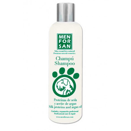 Champú Proteínas de Seda y Aceite de Argán para Perros