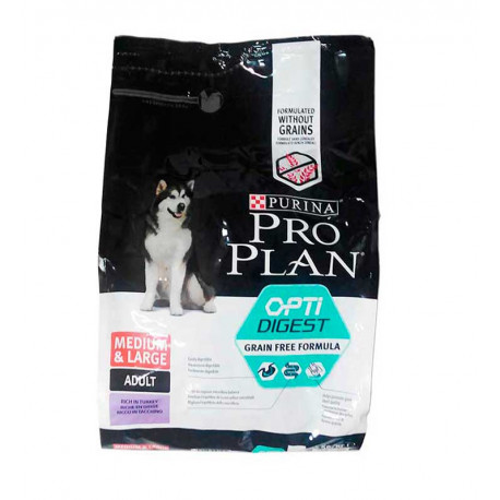 Purina Pro Plan OptiDigest Grain Free Perro Mediano-Grande
